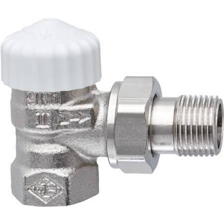 Heimeier design thermostaatkop met vloeistofvoeler M30 x 1,5 RAL9016 DX