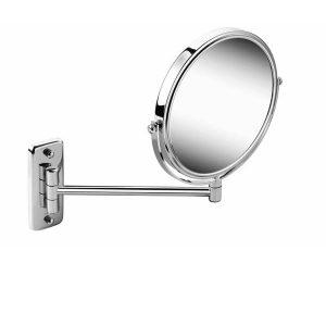 Geesa Mirror scheerspiegel 1-arm, normaal en 3x vergrotend chroom