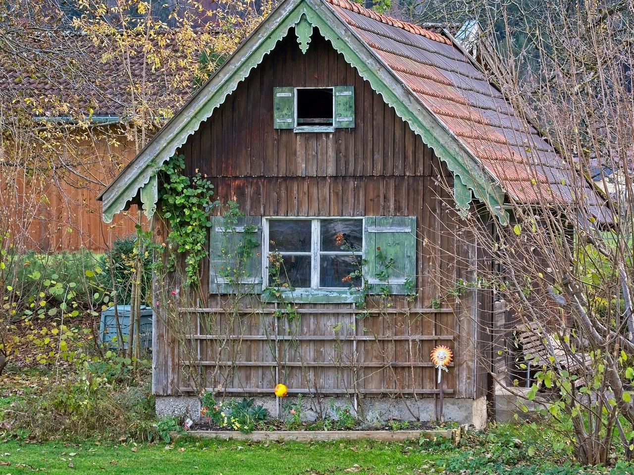Verwarming tuinhuis